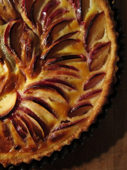 12 - French apple tart detail