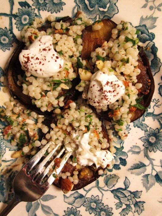Couscous Eggplant - detail