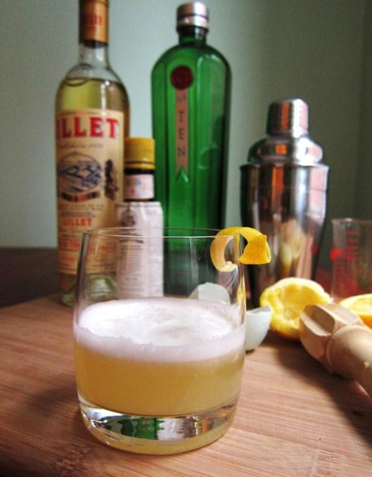 Lemon Gin Fizz
