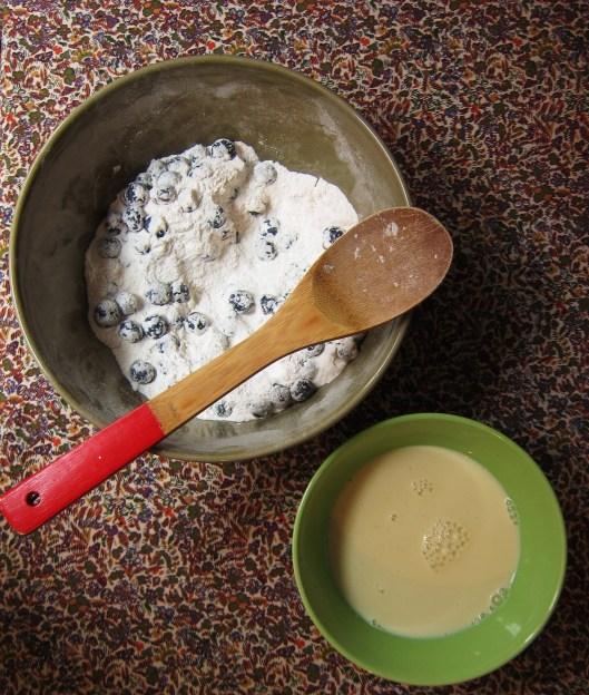 pancake prep