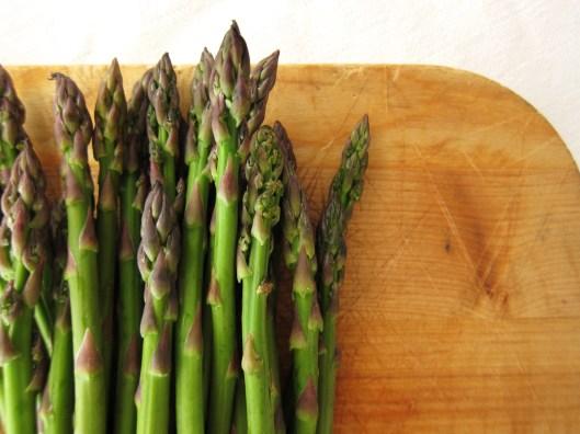 asparagus - detail