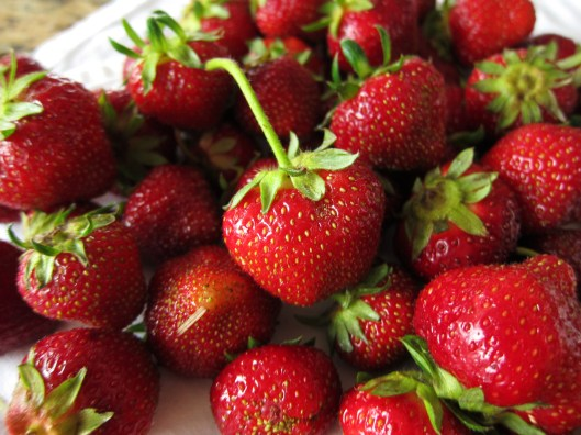 Strawberries - detail