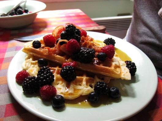waffle - detail