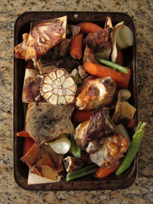 roasted bones