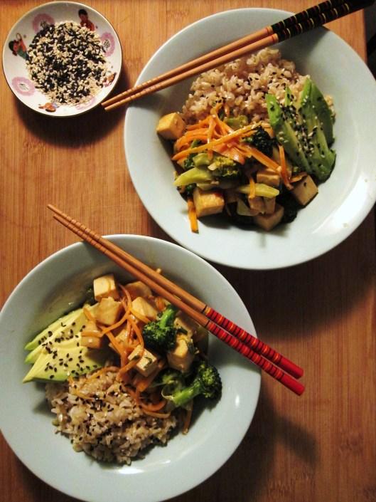 Tofu Bowls