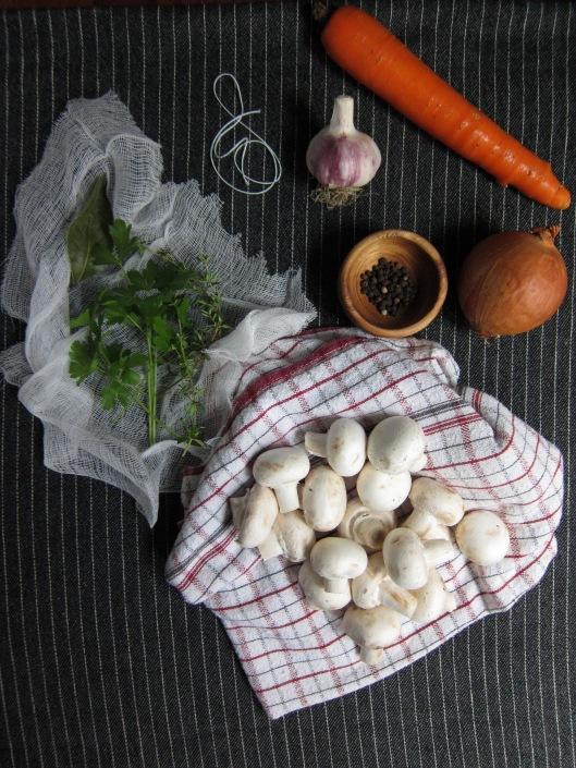 Ingredients bourguignon