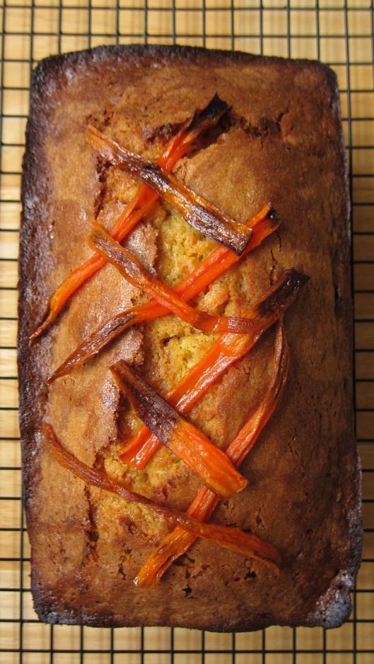 Olive Oil Carrot Bread