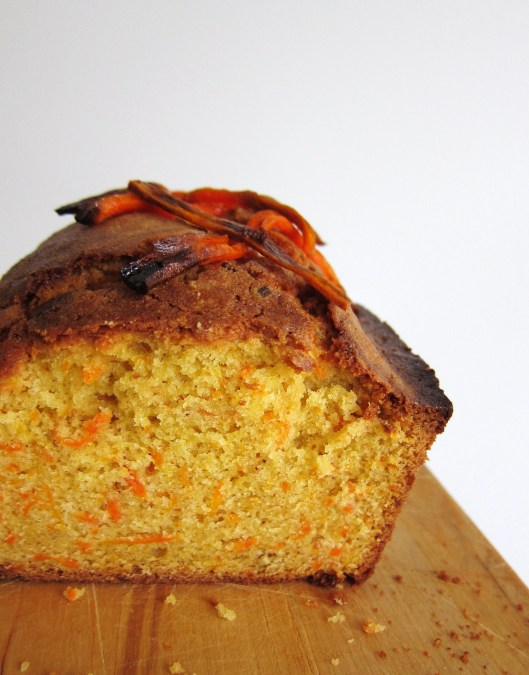 Olive Oil Carrot Bread, section