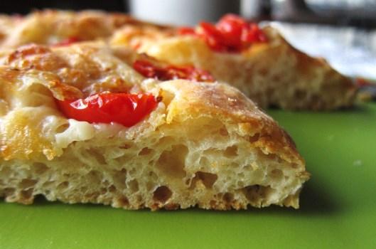 Tomato Focaccia - detail