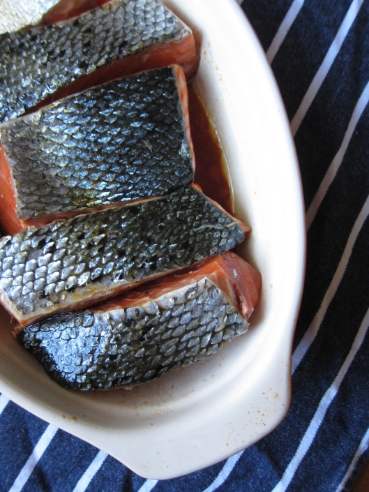Soy Sauce Salmon // © julia chews the fat